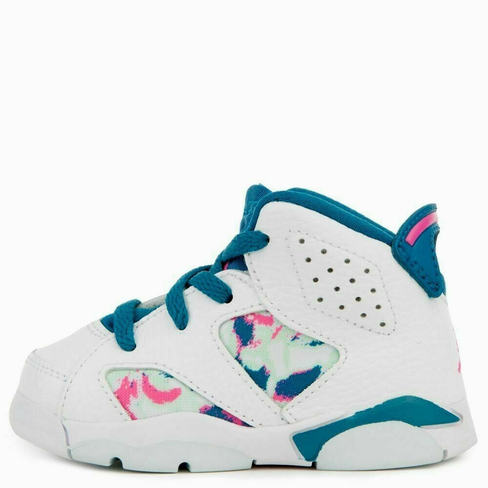 best sneakers 4b561 85b07 (eBay Sponsored) Nike Toddler s Jordan 6 Retro GT Shoes NEW AUTHENTIC  White Blue