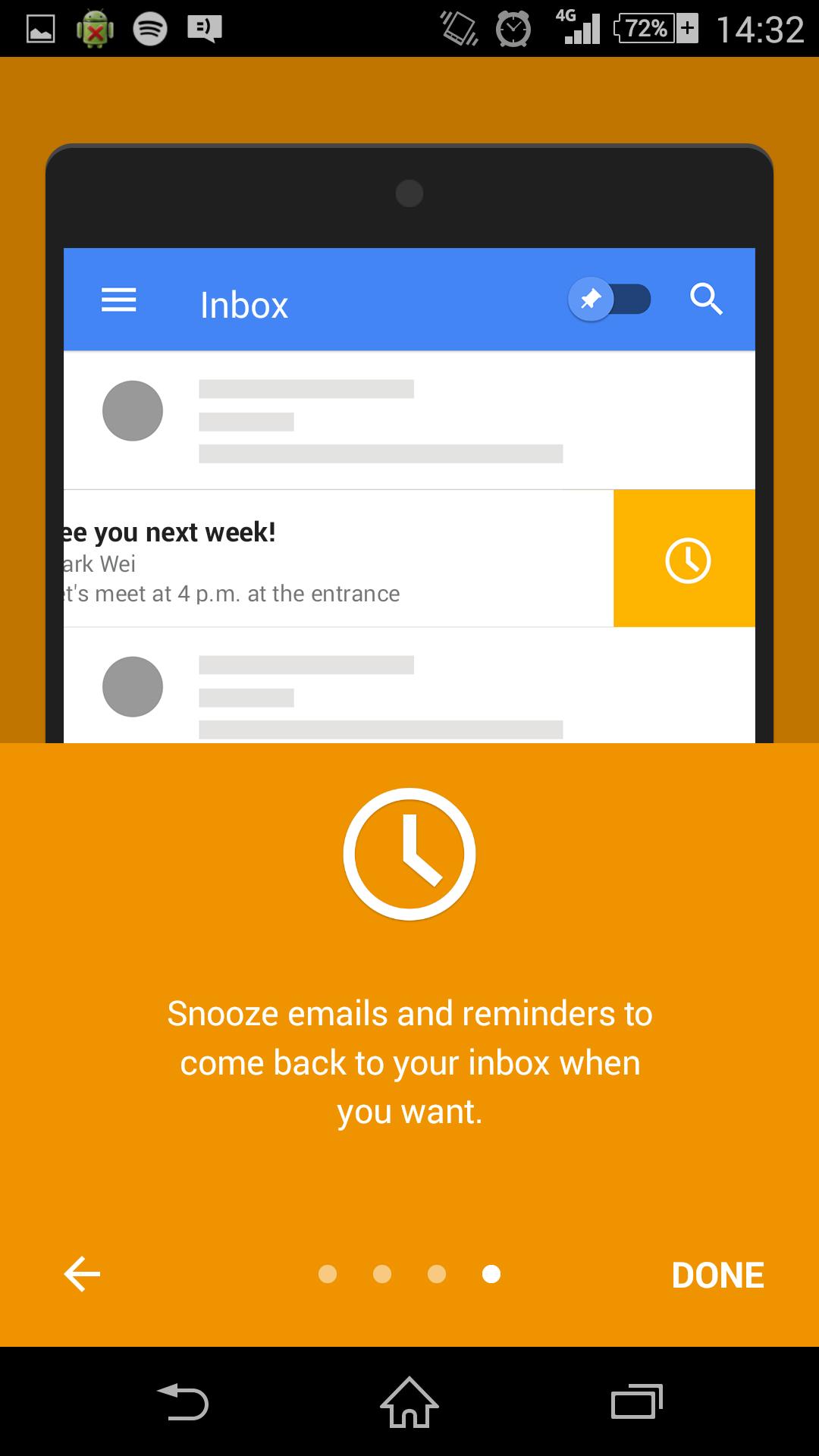 Google Inbox Mobile Onboarding 4 Onboarding,