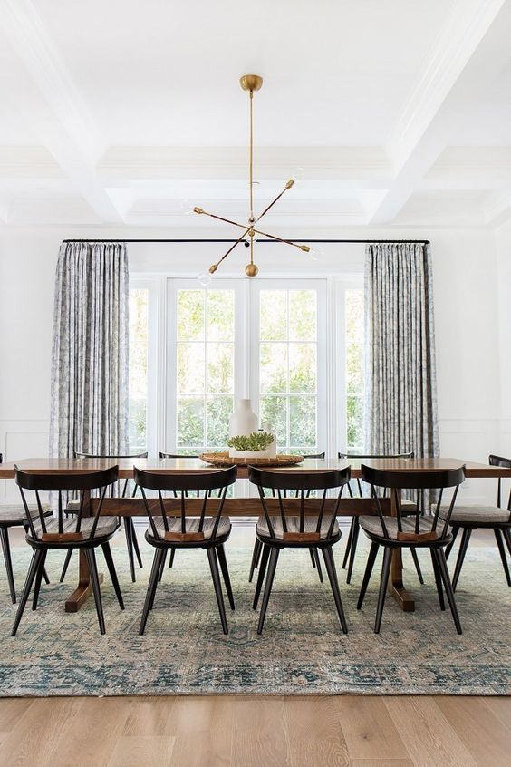 How To Make Antiques Look Modern Dining Room Small Minimalist
