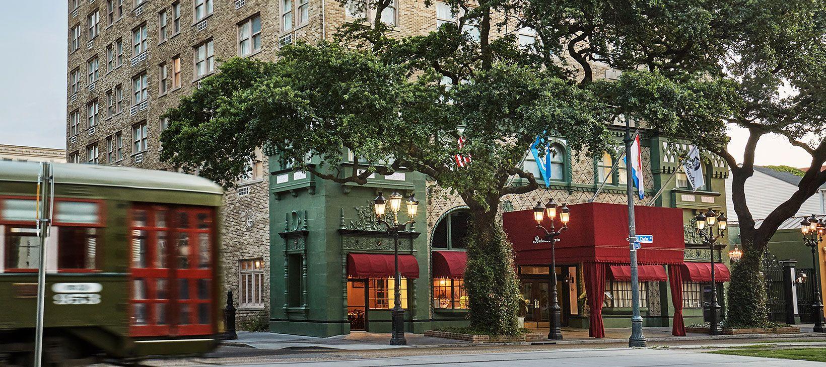 Visit The Re Elished Pontchartrain Hotel A New Orleans Garden District Gem Overlooking