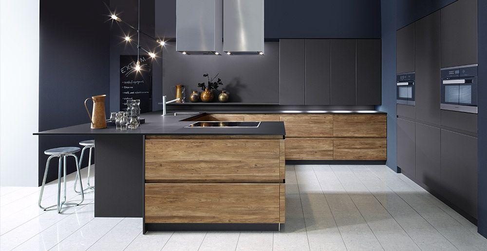 Schröder Küchen | Küche ohne Griffe | Sherwood H GLV engadina ...
