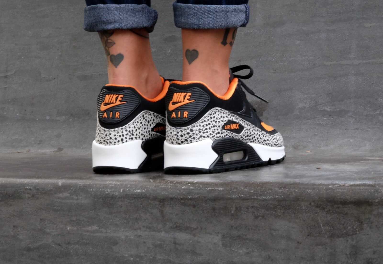 Nike Air Max 90 Safari (GS) 820340 100 in 2020 Nike