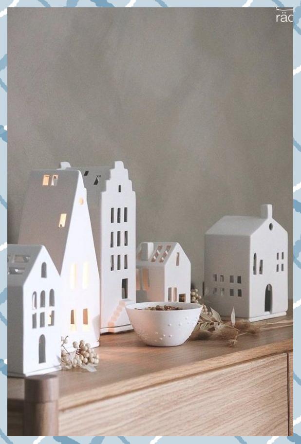 Photo of Stimmungsvolle Porzellan Lichthäuser