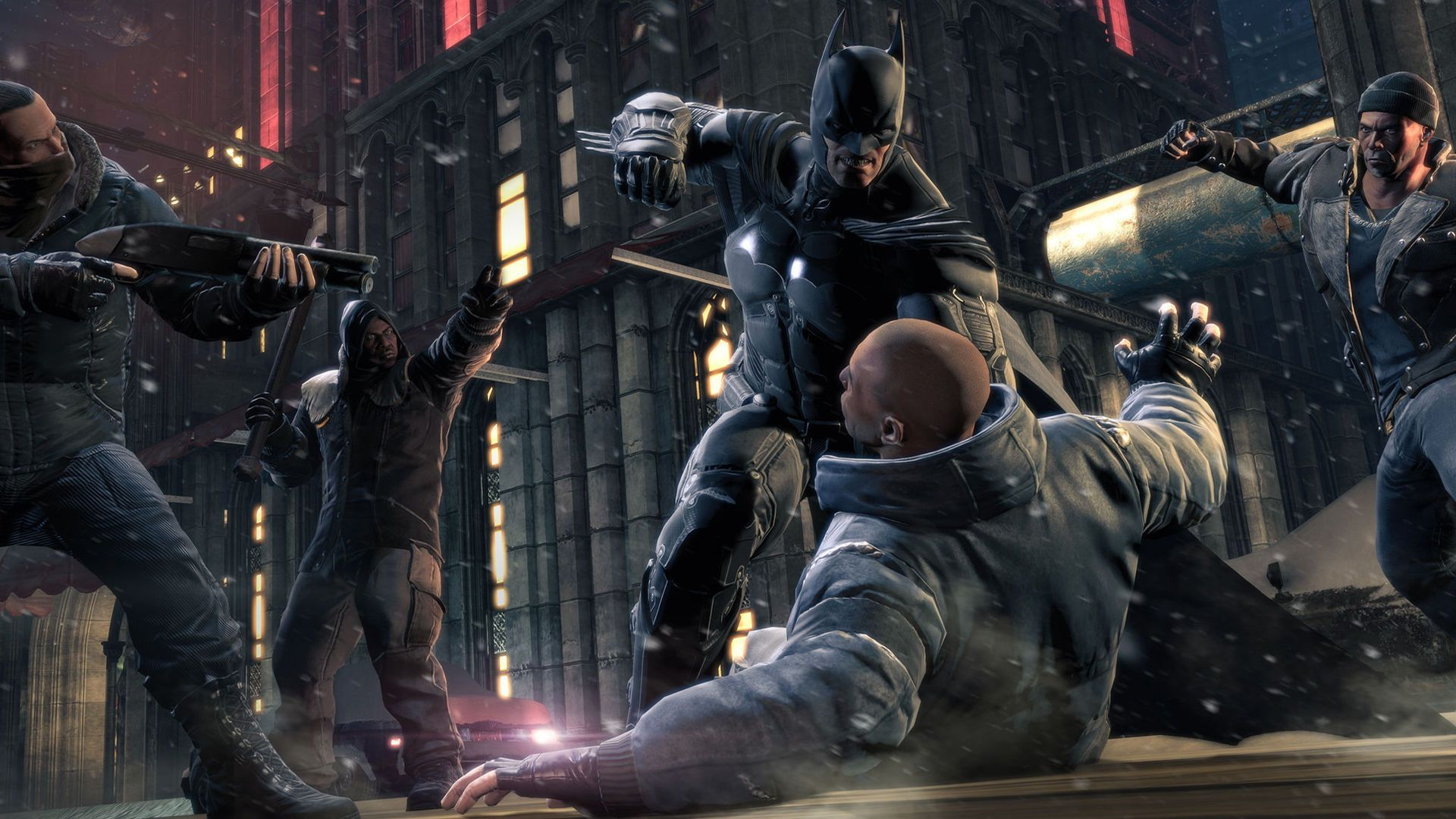 #ArkhamOrigins #BatmanArkhamOrigins  Para más información sobre #videojuegos síguenos en Twitter: https://twitter.com/TS_Videojuegos y en www.todosobrevideojuegos.com