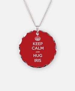 009c4d71f5 Hug Iris Necklace for | IRIS CHARM | Jewelry, Name necklace, Pendant ...