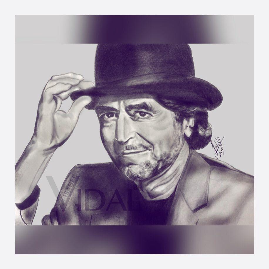 Isabel Vidal On Instagram Joaquin Sabina Artsy Art Pencil Dibujo Draw Drawing Lapiz Graphite Illustration Artwork Celebrity Artwork Art Drawings
