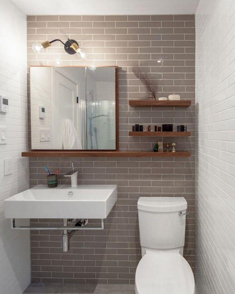 Photo of 65 Beautiful Bathroom Storage Shelves Organization Ideas