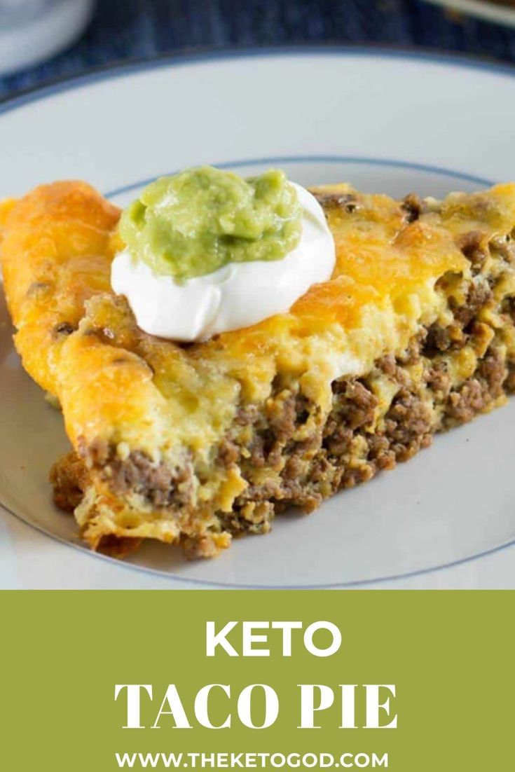 Photo of Keto Taco Pie