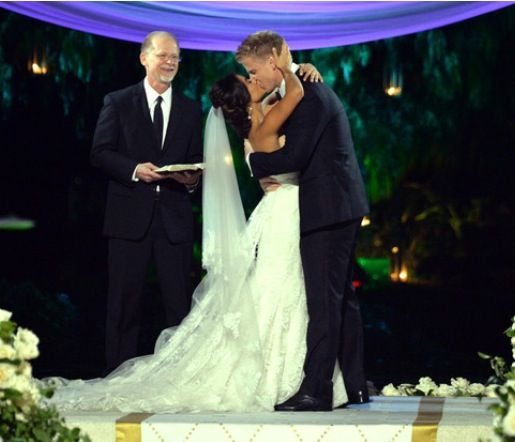 Catherine And Sean Bachelor Wedding Sean And Catherine Wedding Celebrity Weddings