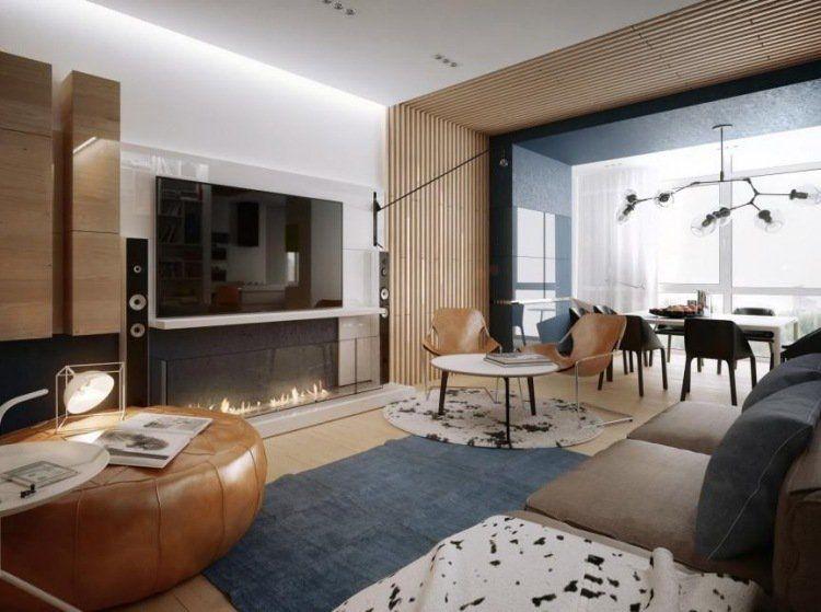 Décoration en bois - comment réchauffer l\'intérieur en hiver?