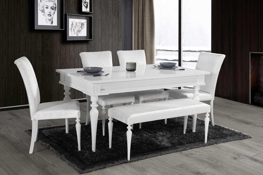 evmo sile salon masa sandalye takimi beyaz yeni yemek masasi mobilya mobilya fikirleri