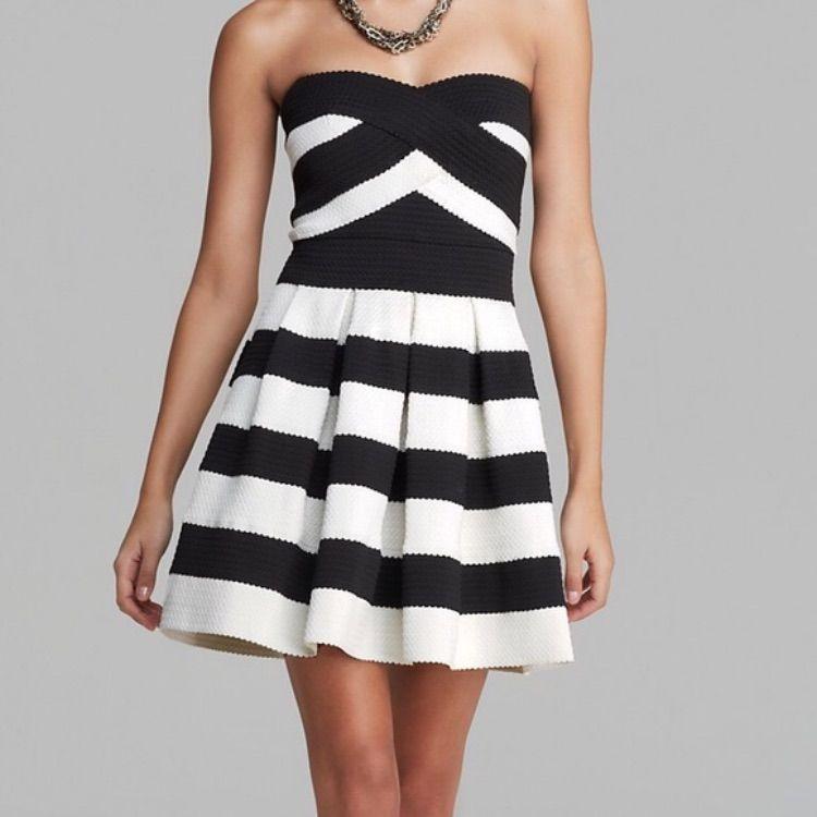 2b6824389c0b Alythea Striped Bandage Dress NWT