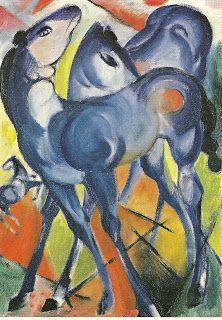 Aldea de las Letras: El artista que pintó un caballo azul, de Eric Carle
