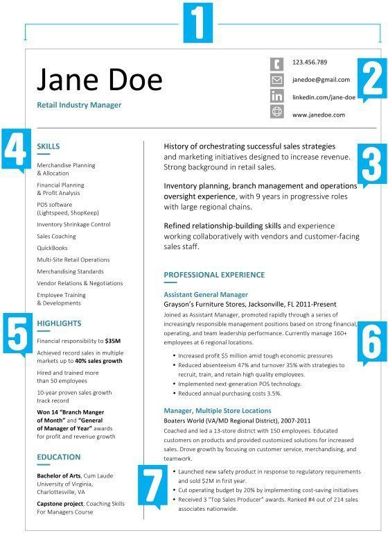 What Your Resume Should Look Like in 2017 resume Job resume