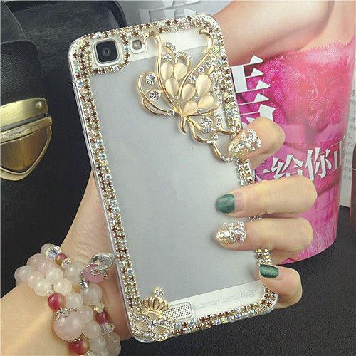 50d5a4860 Cute Luxury Bling Crystal Diamond Hard Case Cover for iphone 6S Plus 5S 5C 4S  Samsung