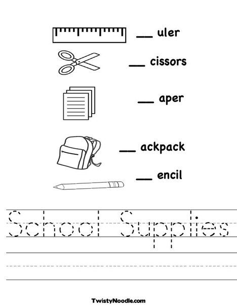 School Worksheets For Kids Www.robertdee.org