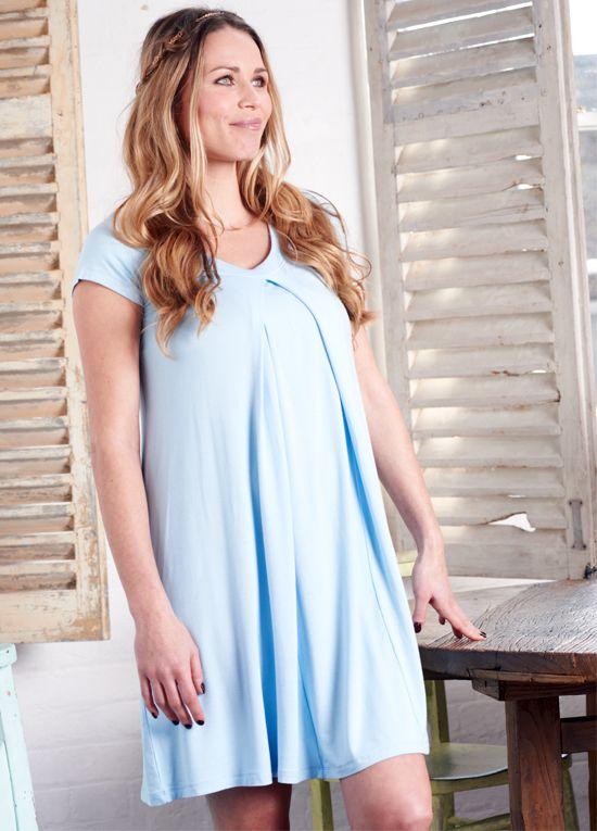 Floressa - Lara Blue Hospital Nursing Gown | Future Baby/Children ...
