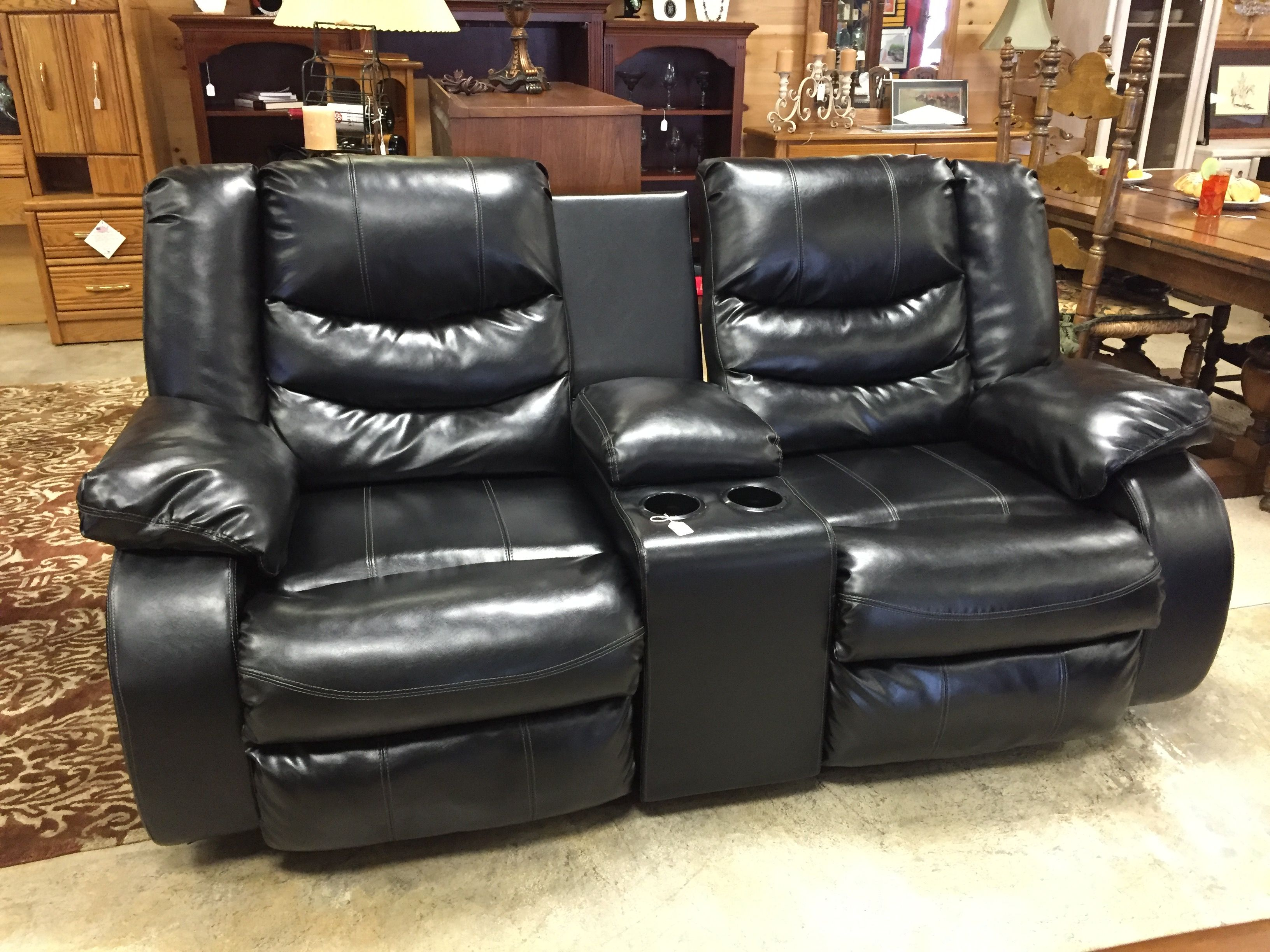 Dual Recliner Loveseat  $595 #loveseat #mk #consignment #furniture #comfort  #