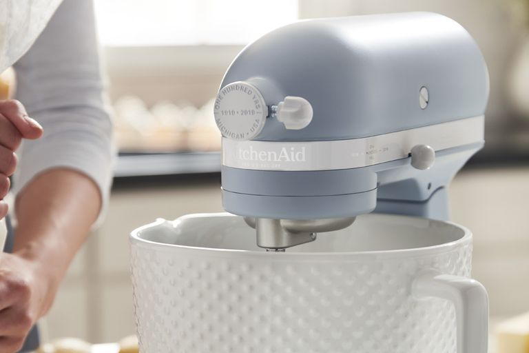 Misty blue stand mixer with images kitchen aid mixer
