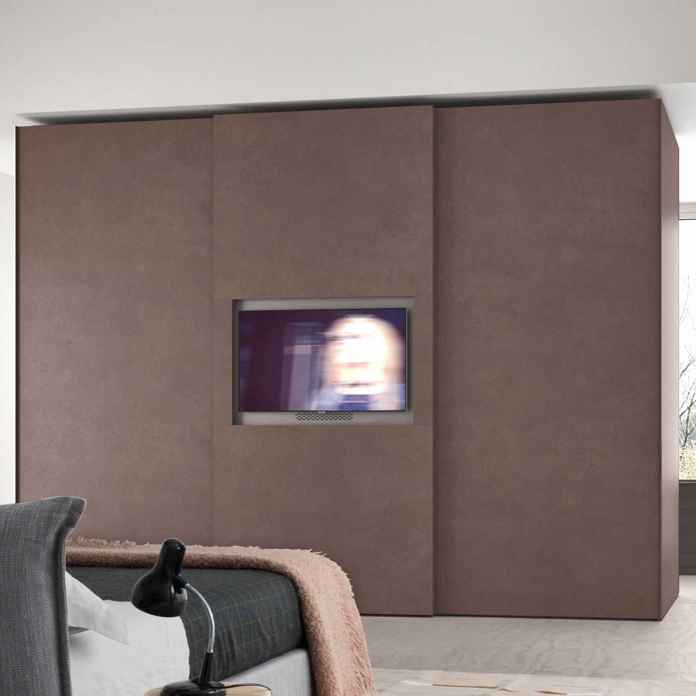 Armadio scorrevole porta tv Wide - DIOTTI.COM   Porte ...