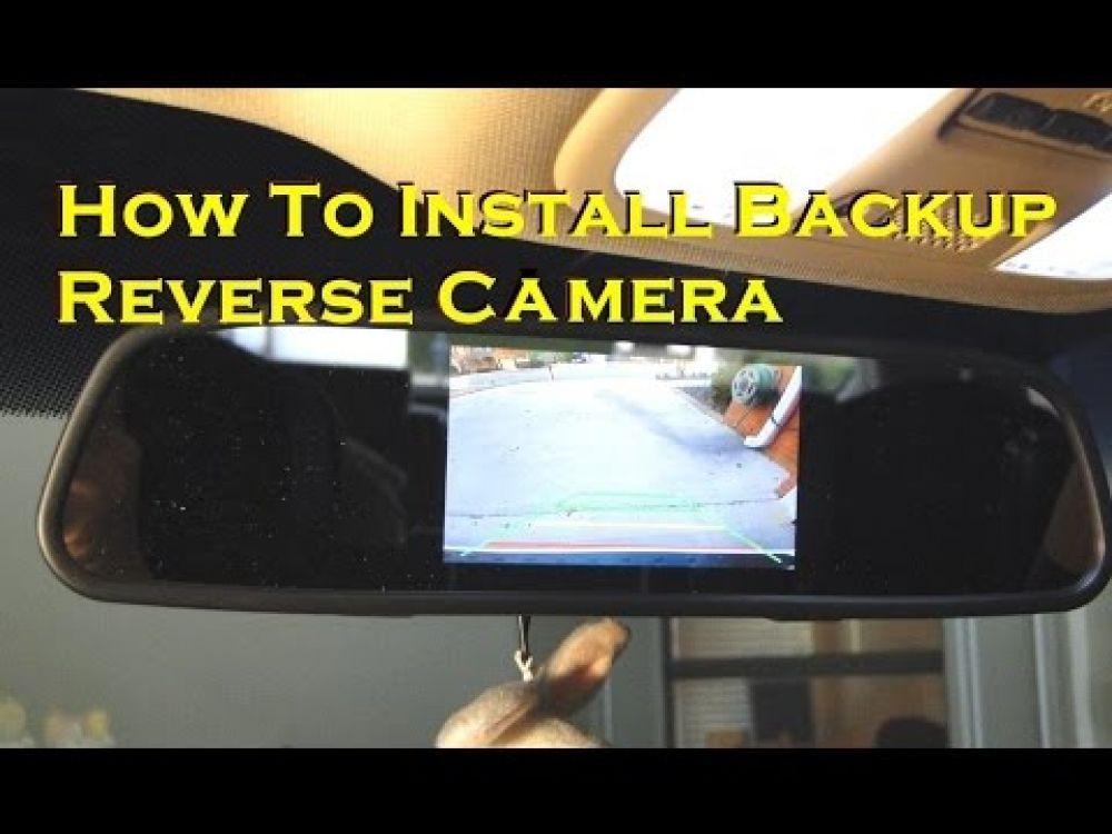 Toyota Prius Reverse Camera Wiring Diagram