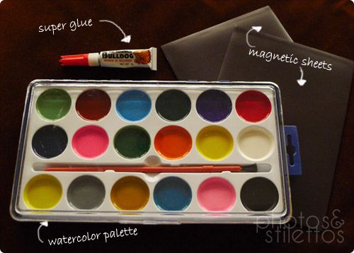 Before Pic Diy Makeup Eye Shadow Palette Use An Empty Or