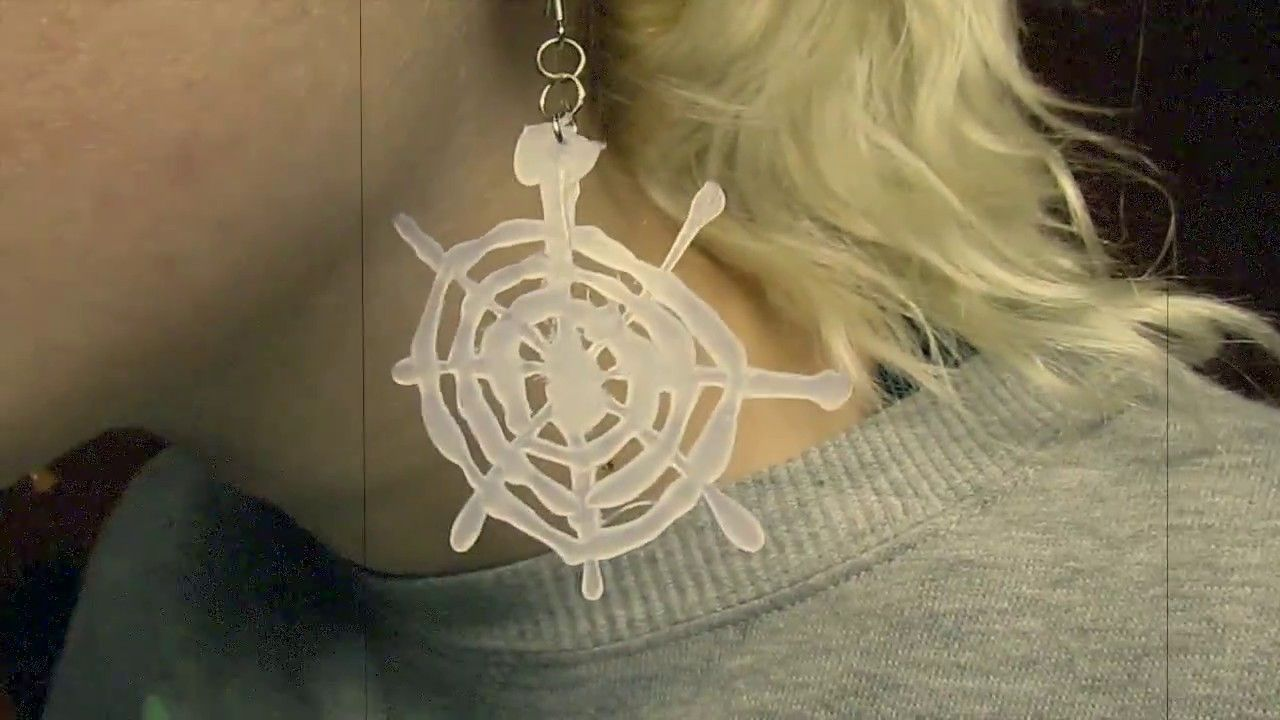 DIY Cheap & Cute Spiderweb Inspired Earrings! | 31 Days of Halloween | Sara Saberi