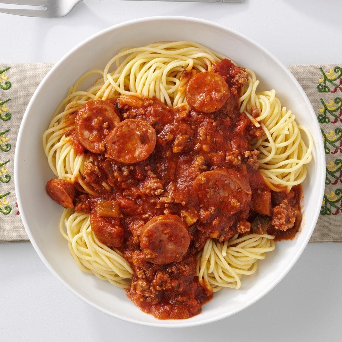 Super Spaghetti Sauce Recipe Dinner With Ground Beef Beef Dinner Beef Recipes For Dinner