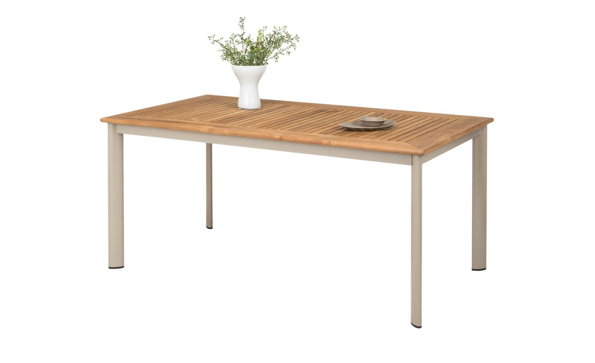 A Casa Mia Gartentisch Mit Teakholz Bonn Gartentisch Teak Holz