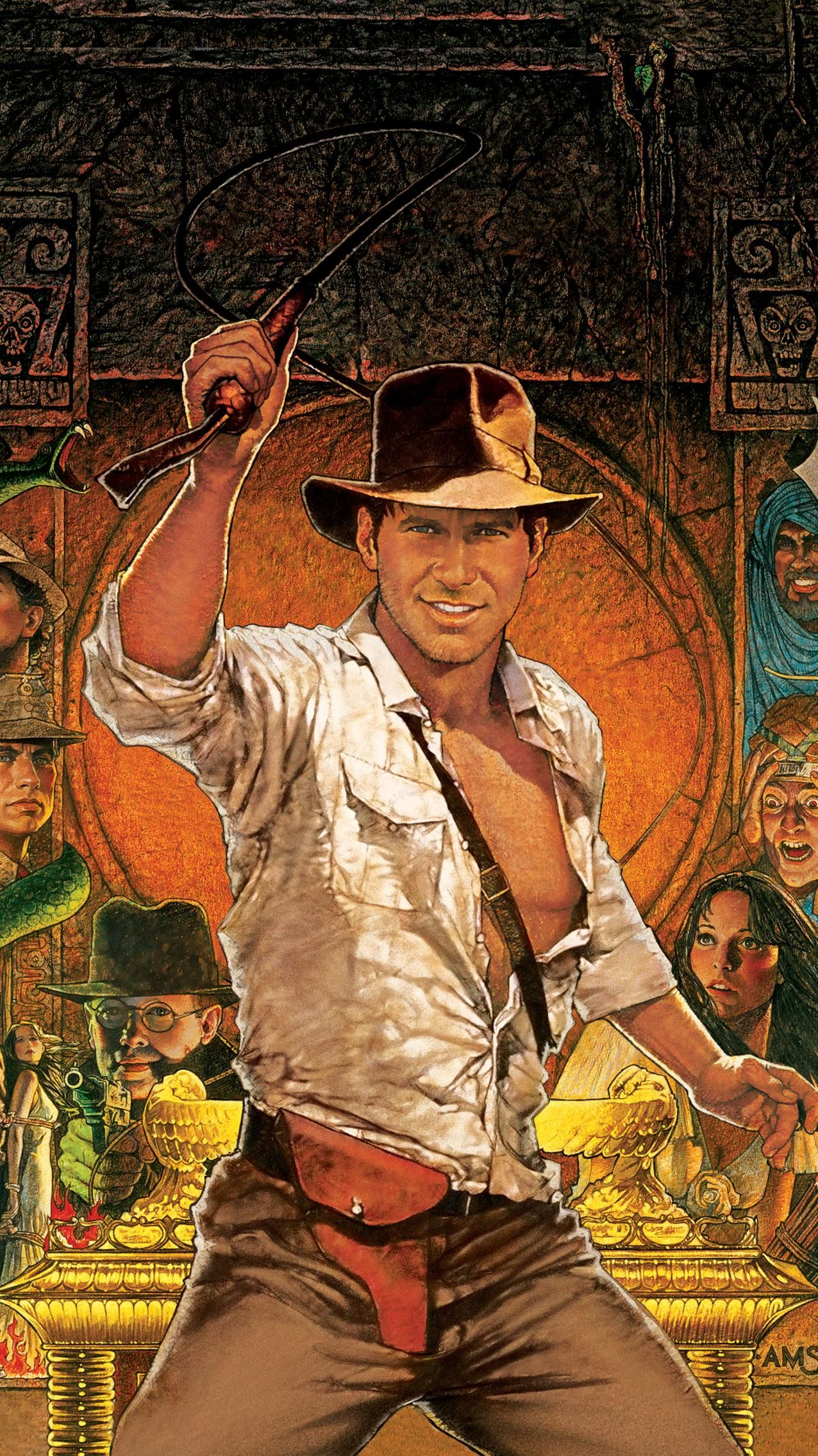 Raiders Of The Lost Ark 1981 Phone Wallpaper Moviemania Iconic Movie Posters Indiana Jones Iconic Movies