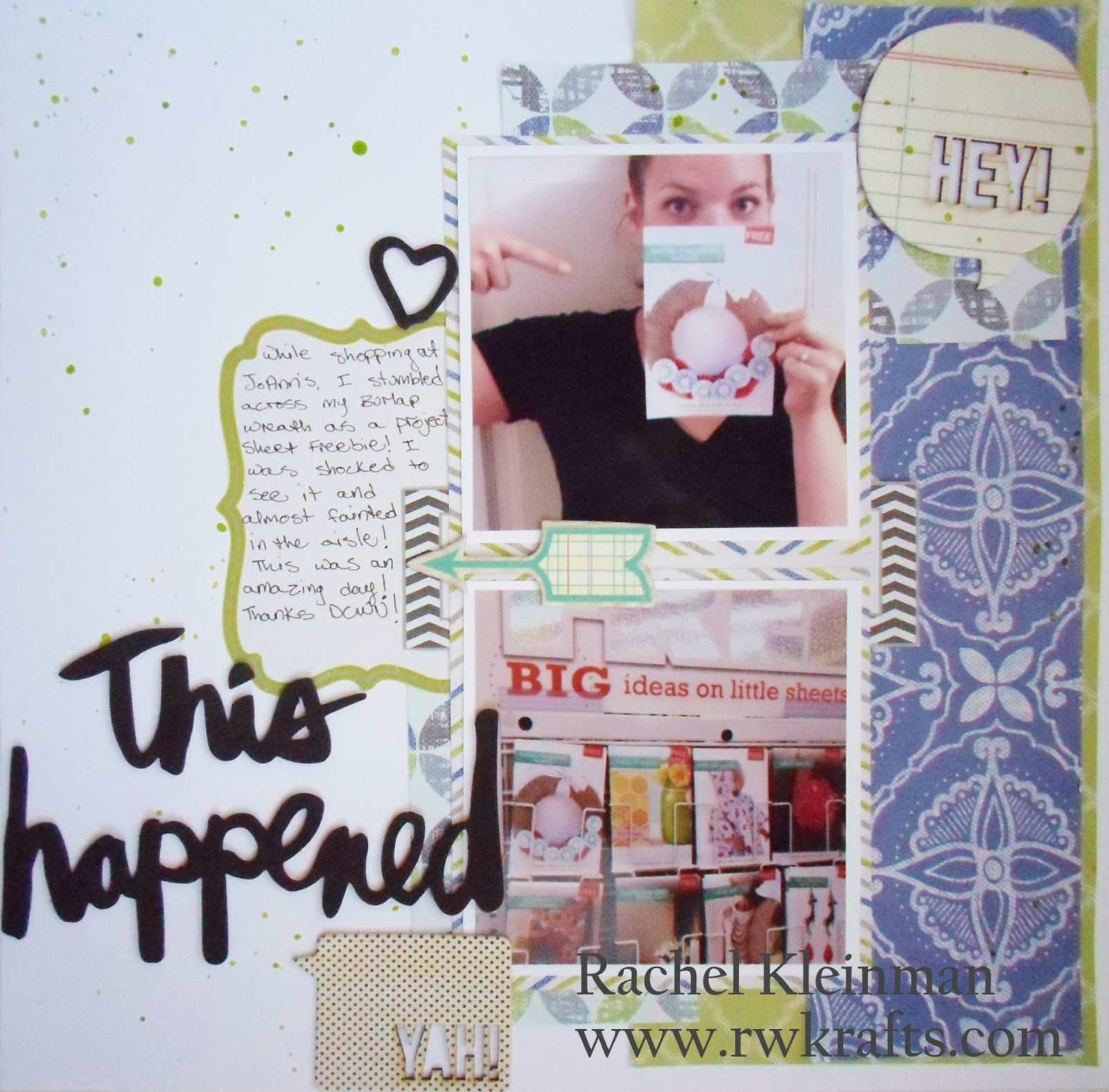 DCWV Diary: Limoncello Layout