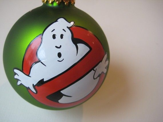 GHOSTBUSTERS Glass Ornament - GHOSTBUSTERS Glass Ornament Christmas Ornaments Christmas