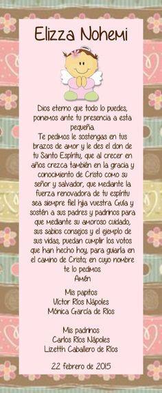 Bautizo Country Style Oraciones De Bautizo Bautismo E