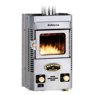 Dickinson Newport Propane Boat Heater Fireplace P9000 Tiny