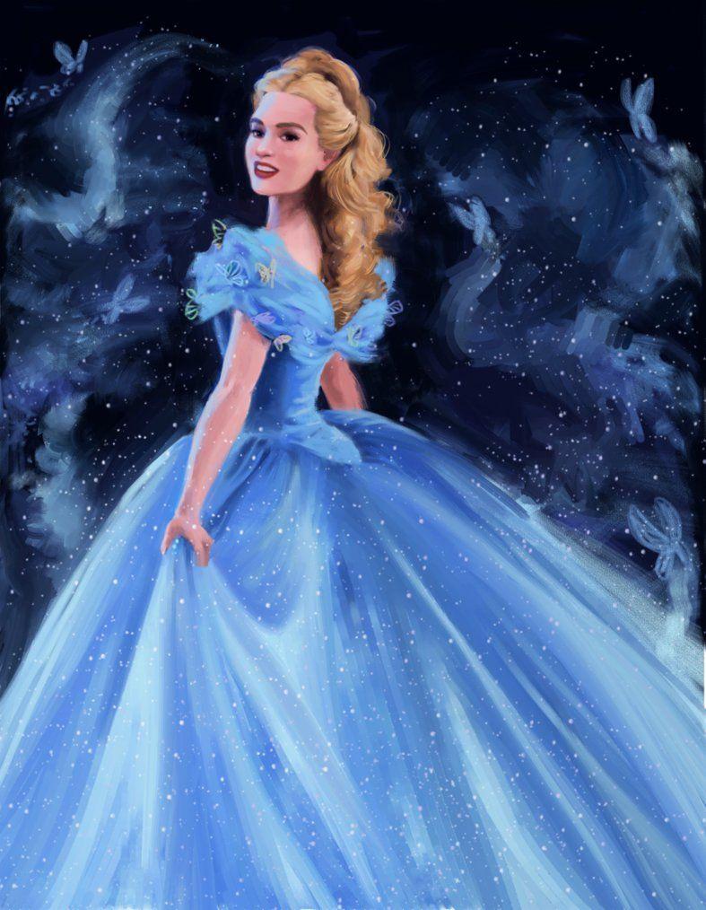 b7a6f88d1c73 Lily james as cinderella 2015 | Queen Hannah | Cinderella 2015 ...