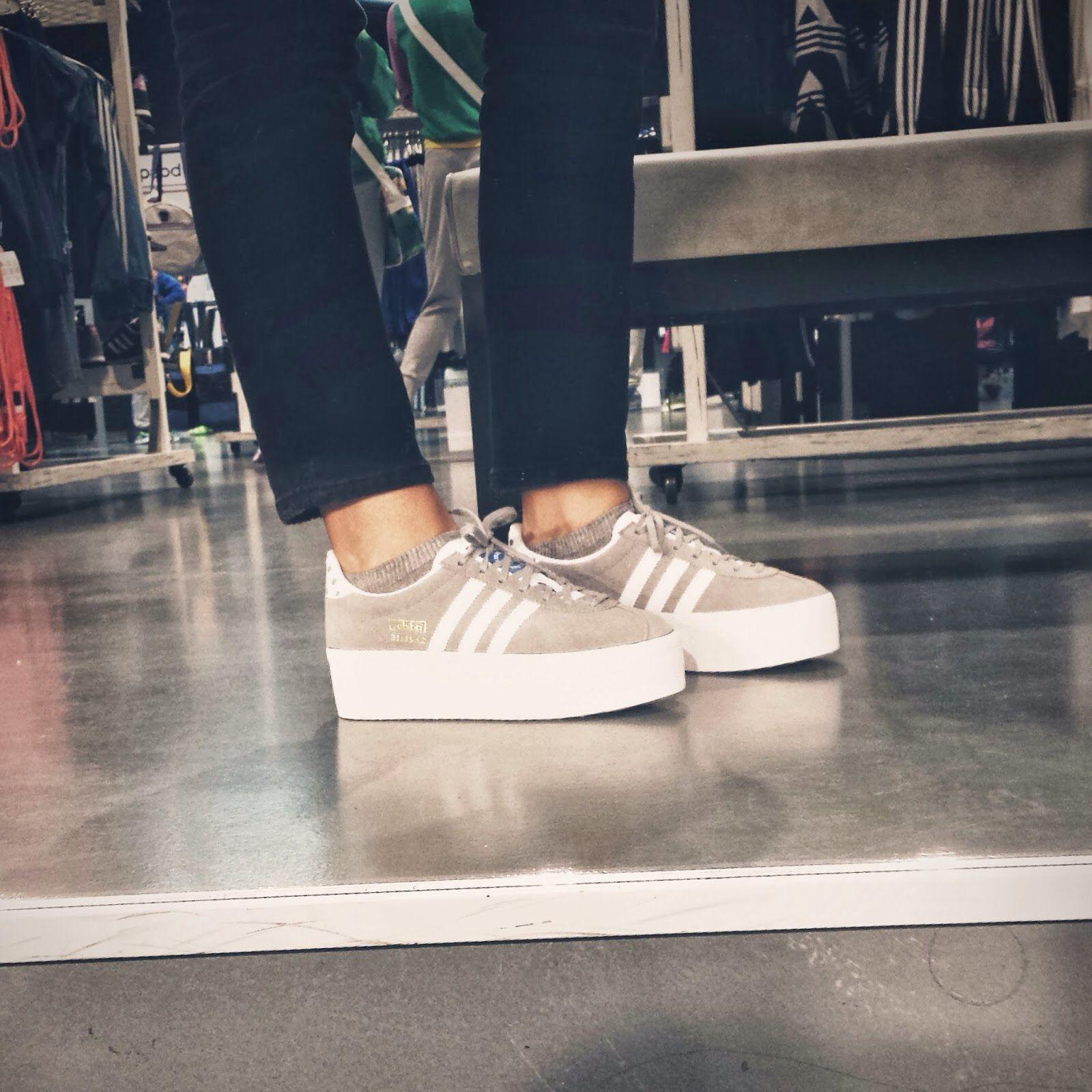 gazelle plataforma adidas