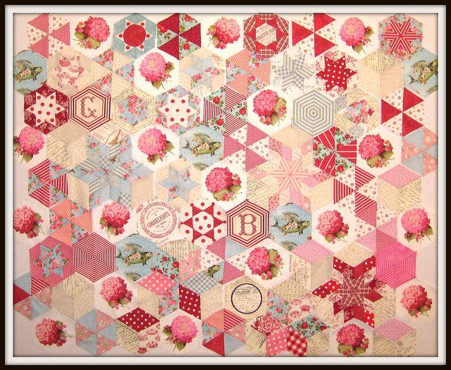 Hexagon quilt!