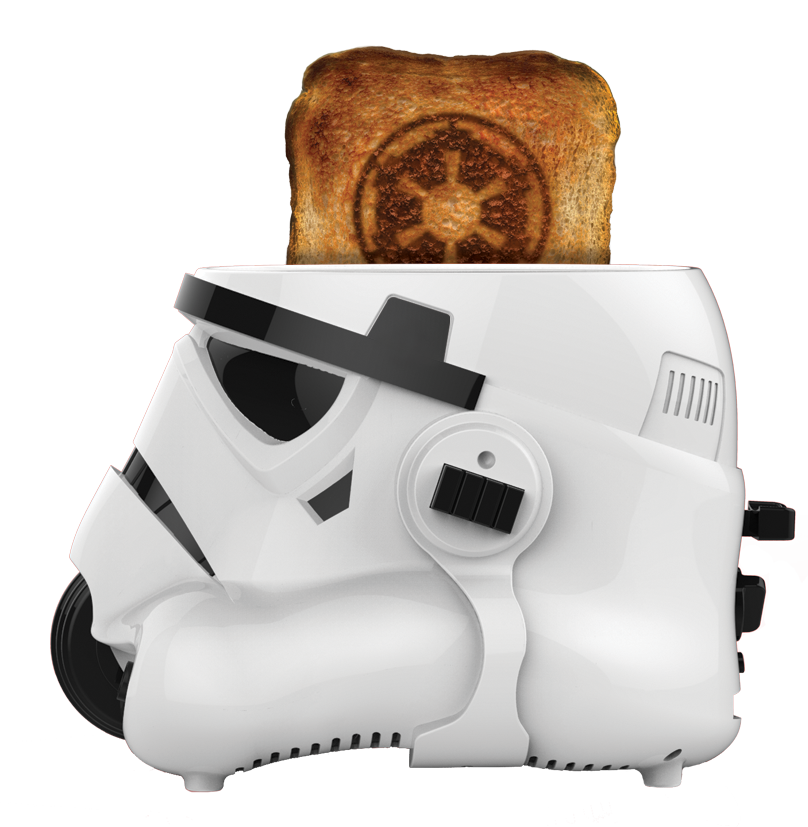 Star Wars Stormtrooper Two Slice Toaster Star Wars