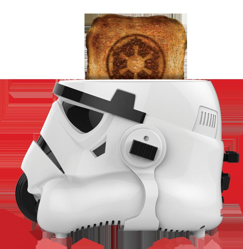 Star wars stormtrooper toaster produits d riv s - Grille pain dark vador france ...