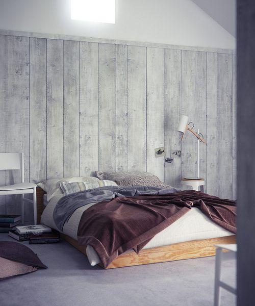 Bedroom I Love How Simple It Is Wood Panel Walls Bedroom Design Home