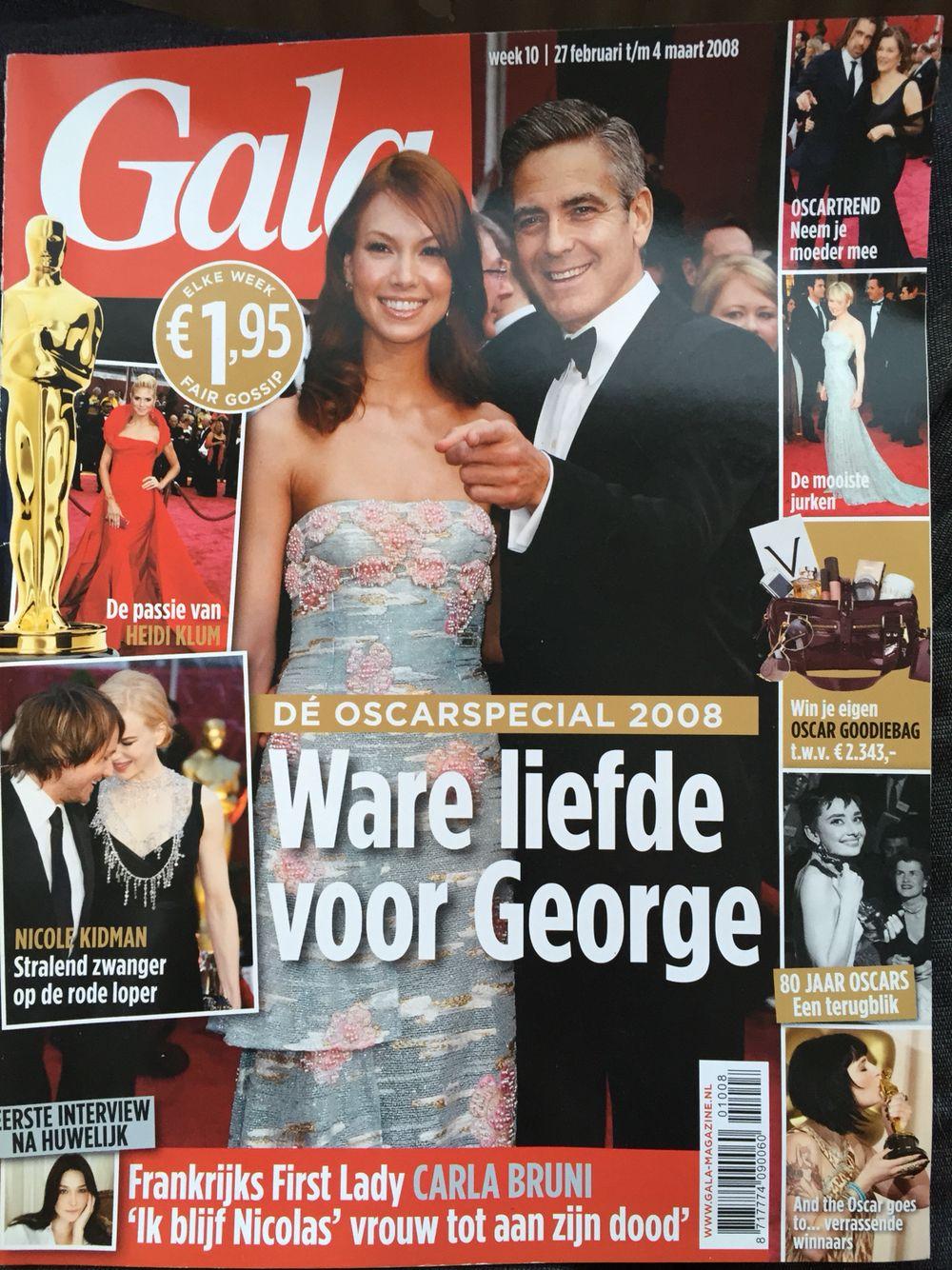 Gala magazine 2008, Oscar special #Oscar