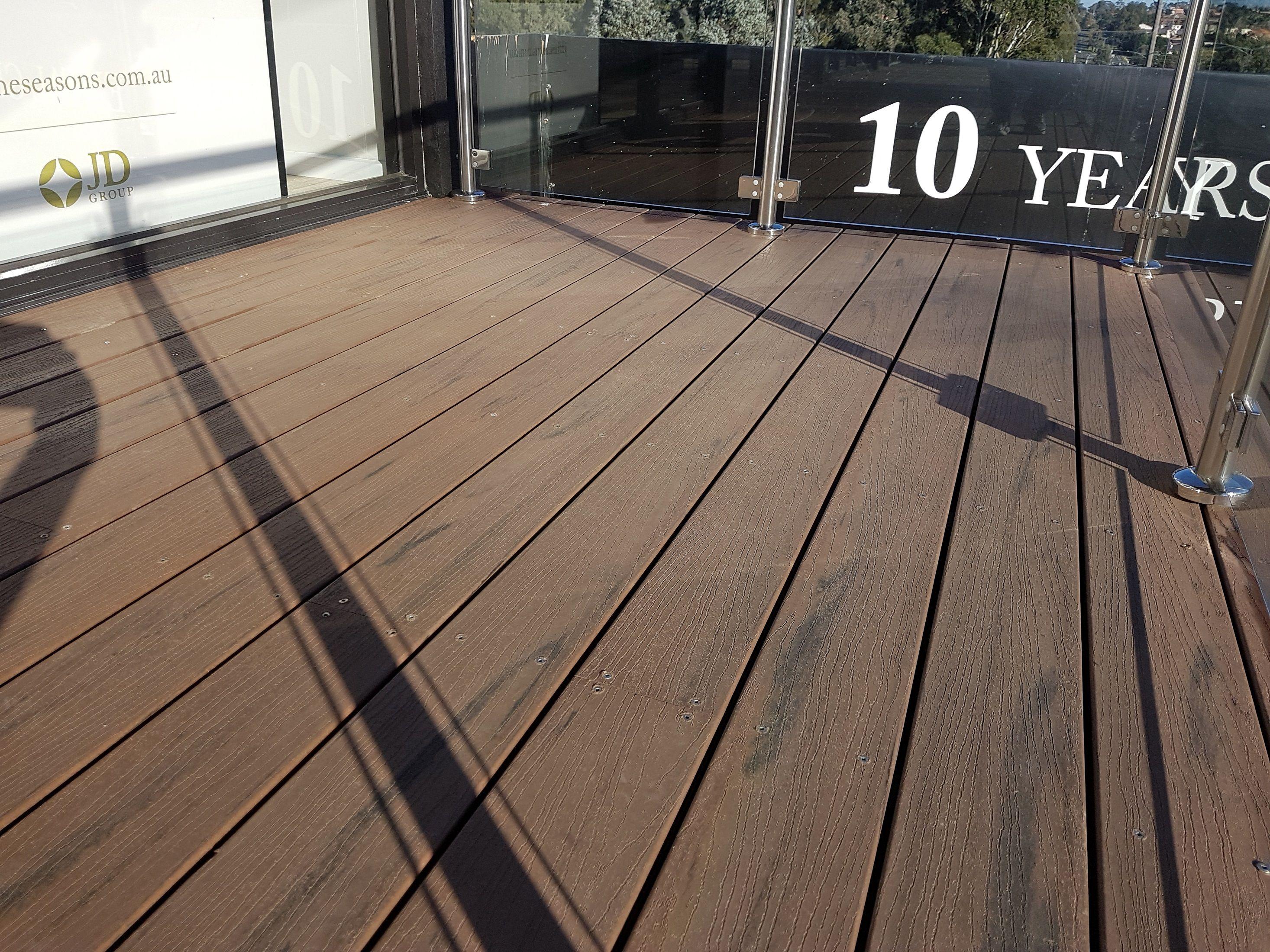 Black Bean Deckingdesigns Compositedecking Timber Deck Modwood Decking Deck