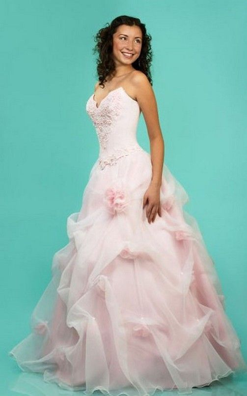 light-pink-wedding-dresses-for-bridesmaid.jpg (503×805) | wedding ...
