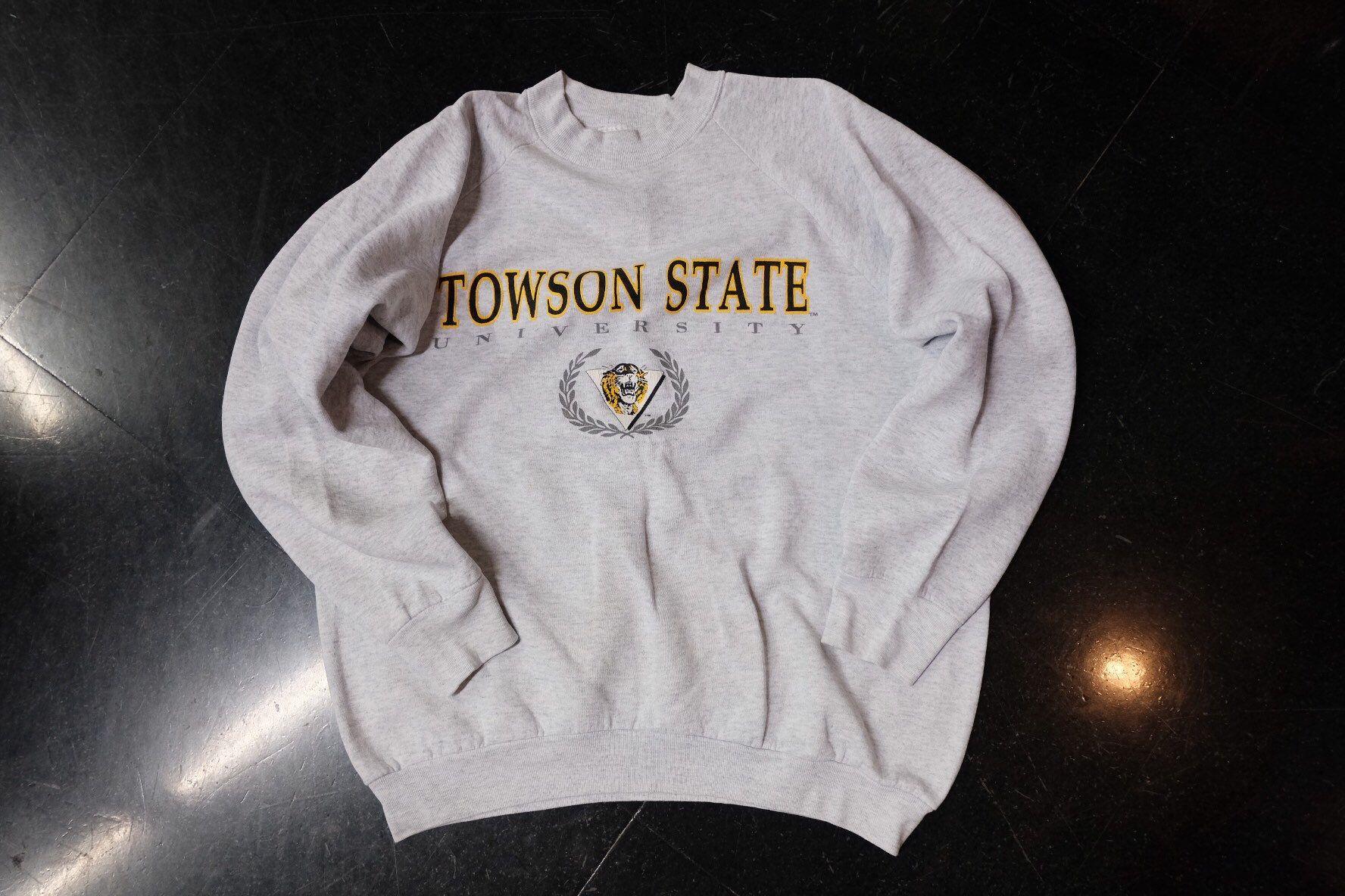 Towson State University Sweatshirt Size Xl Etsy University Sweatshirts Sweatshirts Towson [ 1184 x 1776 Pixel ]