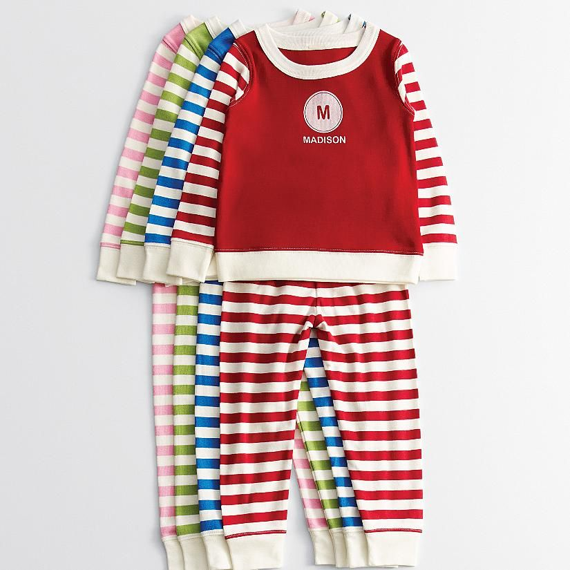 Kids striped pajamas graphic from redenvelope holidays unique personalized baby gifts at personal creations negle Image collections
