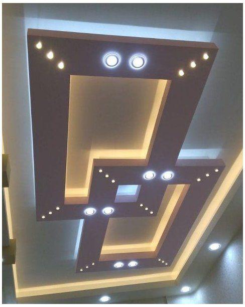 simple down ceiling design bedroom