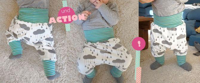 Baby Pumphose selber nähen: aktualisiertes Schnittmuster