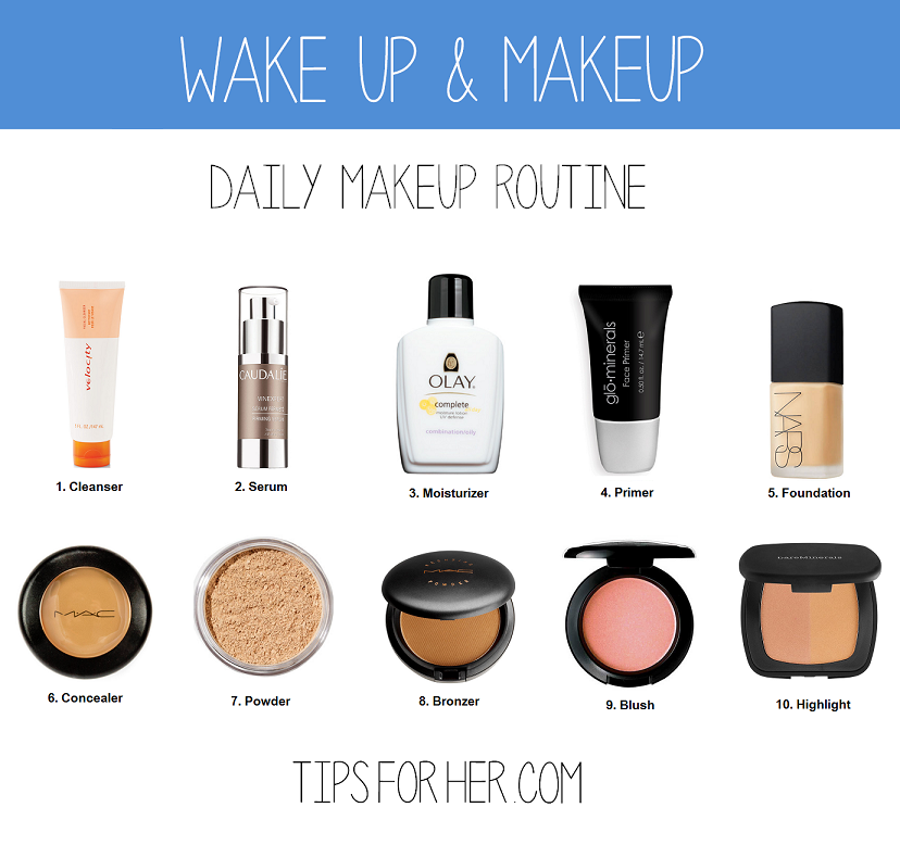 Wake Up & Makeup Daily Makeup Routine Beauty Tips