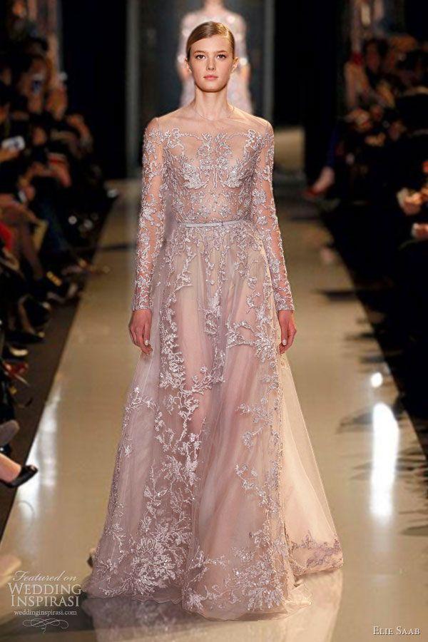 Elie Saab Spring Summer 2013 Couture Dresses Wedding Inspirasi Wedding Dress Couture Couture Dresses Unique Wedding Gowns