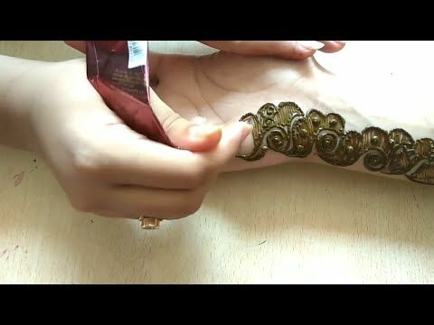 Arabic mehndi design for back hands simple easy and quick tutorial youtube also rh in pinterest